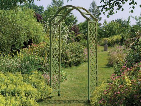 Gardman 07712d Elegance Wood Arch Green