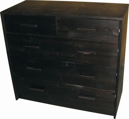 Oestergaard Connie Chest of Drawers with 2+3 Drawers - Wenge