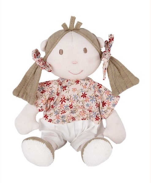 Mamas & Papas - Once Upon a Time - Mini Berry Rag Doll Soft Toy