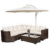Marbella Rattan Corner Sofa Set