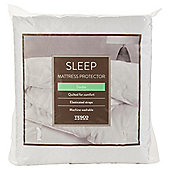 Tesco Standard Double Mattress Protector with Straps