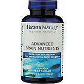 Higher Nature Advanced Brain Nutrients 30 Veg Capsules