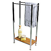 Techstyle Bathroom Towel Rail / Storage Shelf