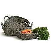 Grey Rectangular Baskets