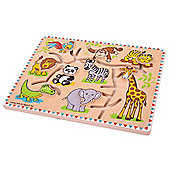 Bigjigs Toys BB059 Safari Maze Puzzle