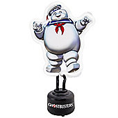 Ghostbusters Stay Puft Marshmallow Man Small Neon Light