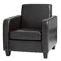 Sofa Collection Cesano Tub Chair - Black