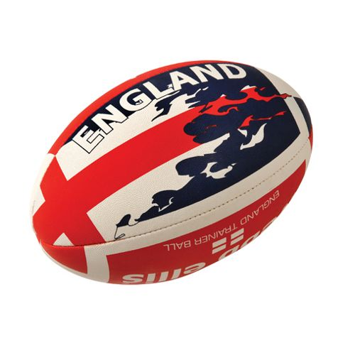 Webb Ellis England Flag Rugby Ball Size 5