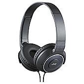 JVC HA-S220-A-E Portable lightweight headphones Black