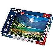 Morskie Oko' Lake in Tatra Mountains Jigsaw Puzzle - 1000 Pieces