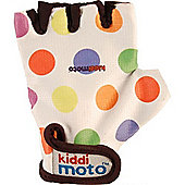 Kiddimoto Gloves Pastel Dotty (Medium)