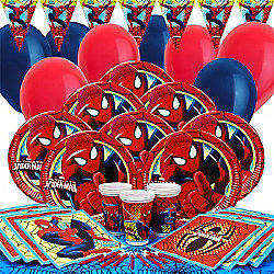 Spiderman Party Pack for 16