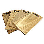 Cedar Grilling Planks for your BBQ - Set of 4