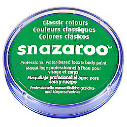 Amscan - Snazaroo Bright Green Face Paint - 18ml