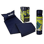Summit Self Inflating Camping Mat with Built-In Pillow