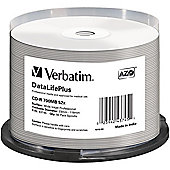 Verbatim DataLifePlus 43745 CD Recordable Media - CD-R, 50 Pack