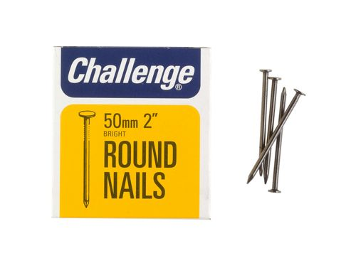 Shaw Challenge Round Wire Nails 1In/25mm