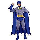 Batman Deluxe The Brave and the Bold - Adult Costume Size: 34-36