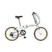 "20"" Wheel Viking Avenue 6 Speed Folder, White"