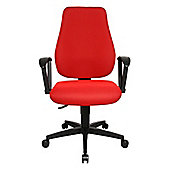 Topstar Trend Star 10 Swivel Chair in Red