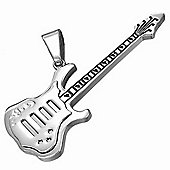 Urban Male Stainless Steel Men's Guitar Pendant