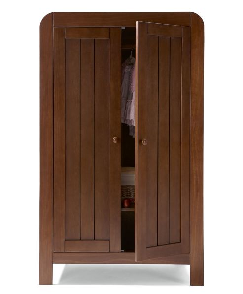 Mamas & Papas - Hayworth Wardrobe - Walnut
