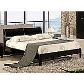 Birlea Aztec Bed Frame - Double - Black
