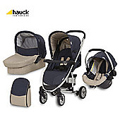 Hauck Malibu All In One Pushchair Moonlight/Almond