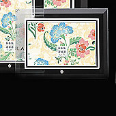"Sixtrees Flat Bevelled Horizontal Glass Photo Frame - 10"" x 8"""