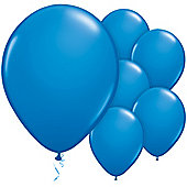 Dark Blue Balloons - 11' Latex Balloon (6pk)