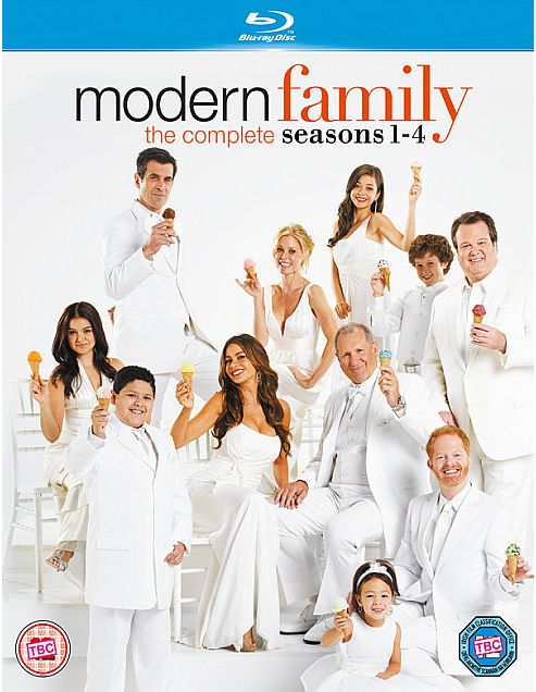 Modern Family Seasons 1-4 Blu-Ray