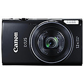 Canon IXUS 275 Digital Camera, 12x Optical Zoom, Wi-Fi, NFC, Black