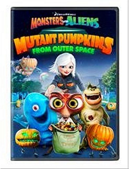 Monsters Vs Aliens - Mutant Pumpkins From Outer Space (DVD)