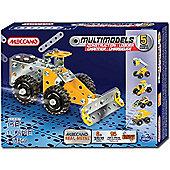Meccano Multimodels 5 Models Construction Loader Set 6024807