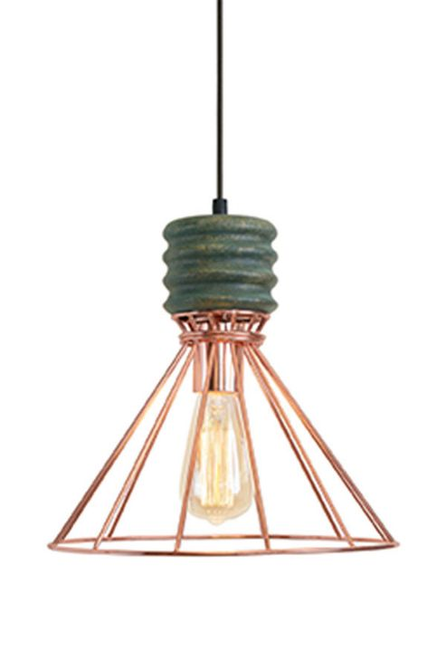 Ceiling Lights Tesco Direct : Buy nicolas copper pendant light from our lighting