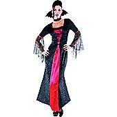 Countess Vampiretta - Adult Costume Size: 12-14