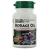 Borage Oil 1300mg / 24% Gla