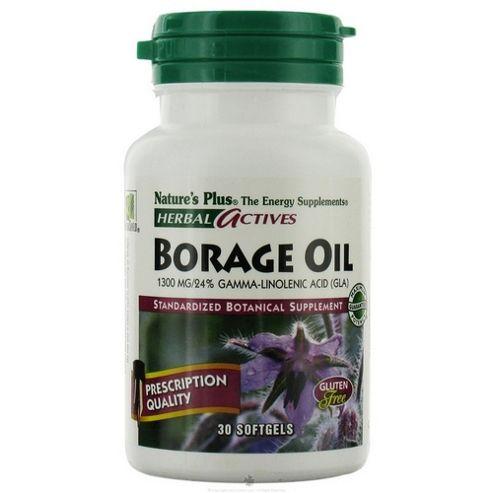 Borage Oil 1300mg / 24% Gla
