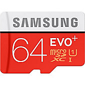 Samsung EVO+ 64 GB microSDXC
