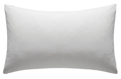 Catherine Lansfield Non Iron Percale Combed Poly-Cotton Sheets Box Pleated Fitted Valance Sheet in White - Double