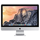 "Apple iMac, 27"", All-in-One Desktop, Intel Core i5, 8GB RAM, 1TB, 1GB Graphics - Silver"