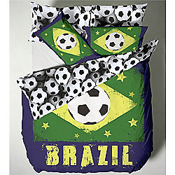 Catherine Lansfield Kids Brazil Single Bed Quiltset