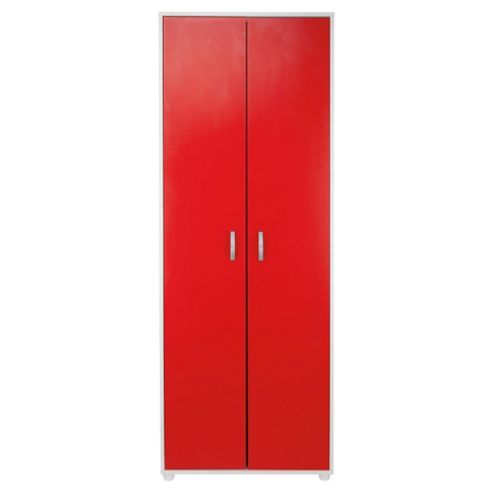 Reno 2 Door Robe White & Red