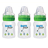 Born Free Deco Bottles 5oz (160ml) 3 Pack