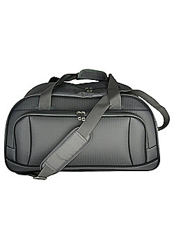 Tesco Lightweight Holdall Grey/Black