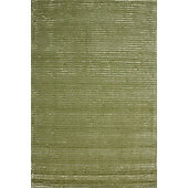 Hill & Co Jubilee Green Stripe Rug - 150cm x 90cm (4 ft 11 in x 2 ft 11.5 in)