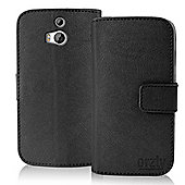 Orzly Multifunctional Wallet Stand Case for Htc One (M8) Mini