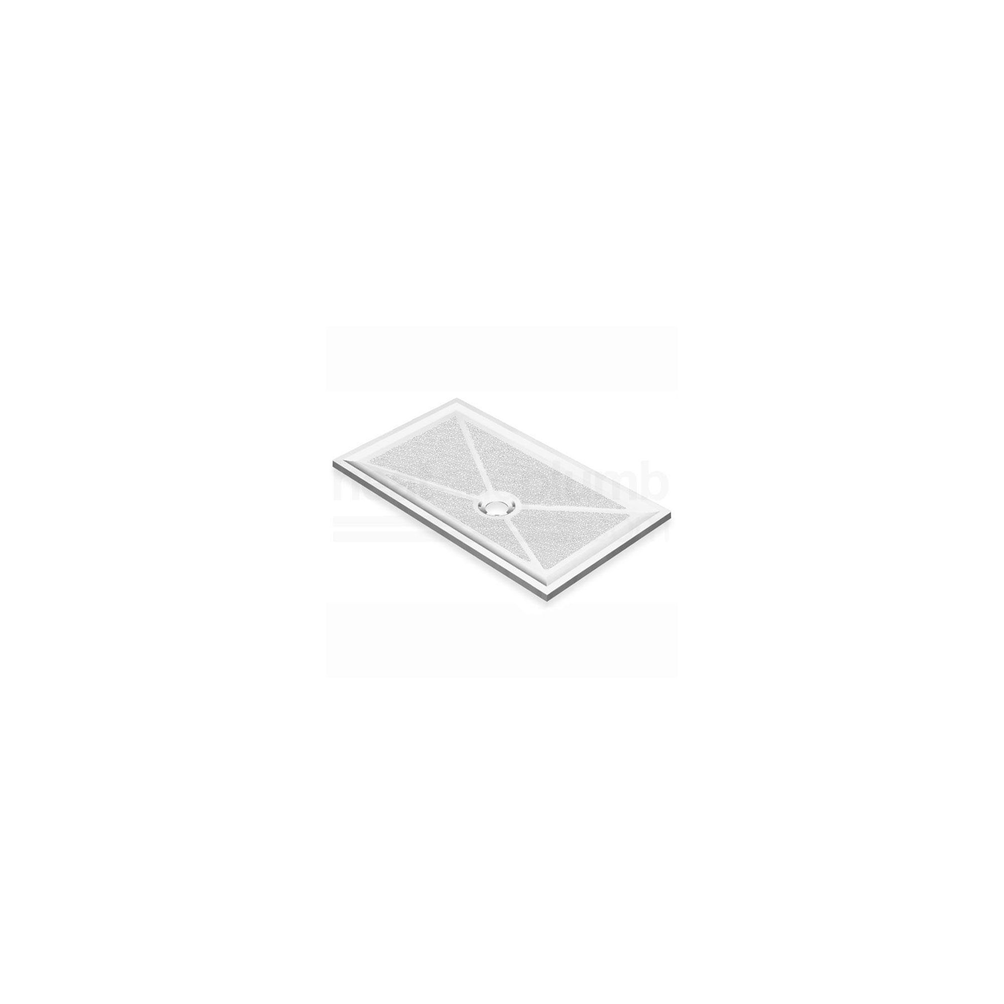 AKW Low Profile Rectangular Shower Tray 1300mm x 820mm at Tesco Direct