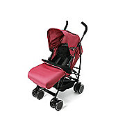 Your Baby - California Baby Buggy/Pushchair Red & Footmuff / Cosytoes.