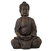 Detailed Stone Look Resin Buddha Garden Ornament
